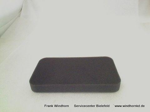 Schaumstoff/schwarz