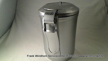 Vakuum Kaffeedose Silber DECC500