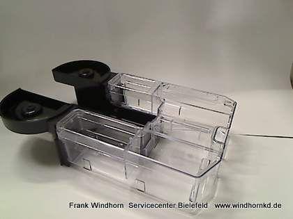 Wassertank EN720 ohne Blenden