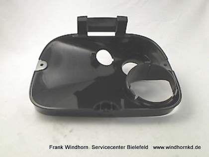 Bohnenbehälter schwarz P124