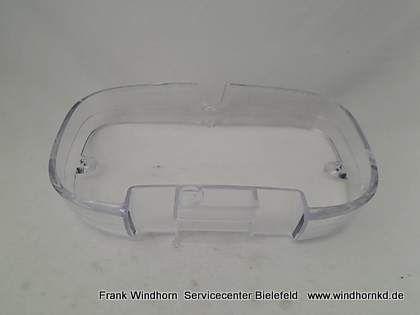 Halterung Bohnenbehälter transparent